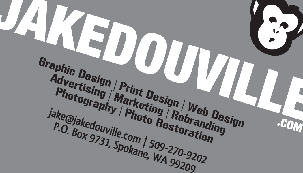 Slanted Business Card