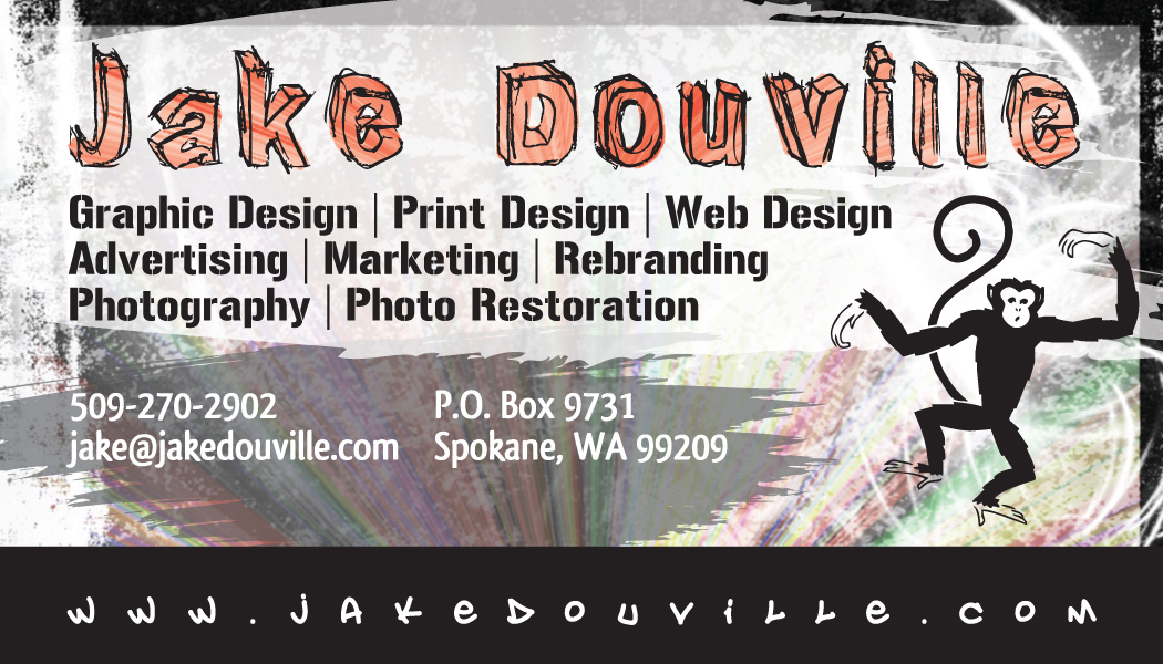 Wild Background Business Card