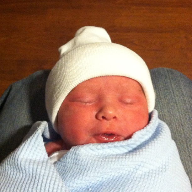 James Thomas Douville 6-Lb. 10-oz.
