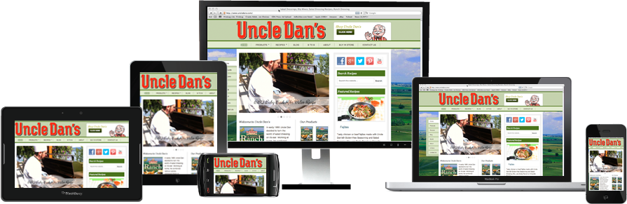 Uncle Dan's Responsive Design