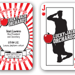 Lucky Jack Orchards Business Card
