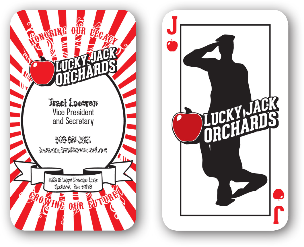 Lucky Jack Orchards — Jake Douville - Graphic Design