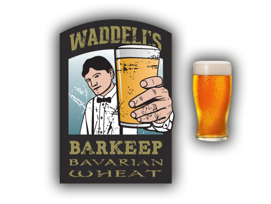 Waddell's Barkeep Bavarian Wheat