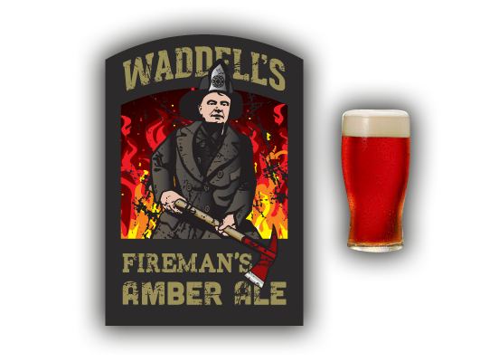 Waddell's Firemans Amber Ale