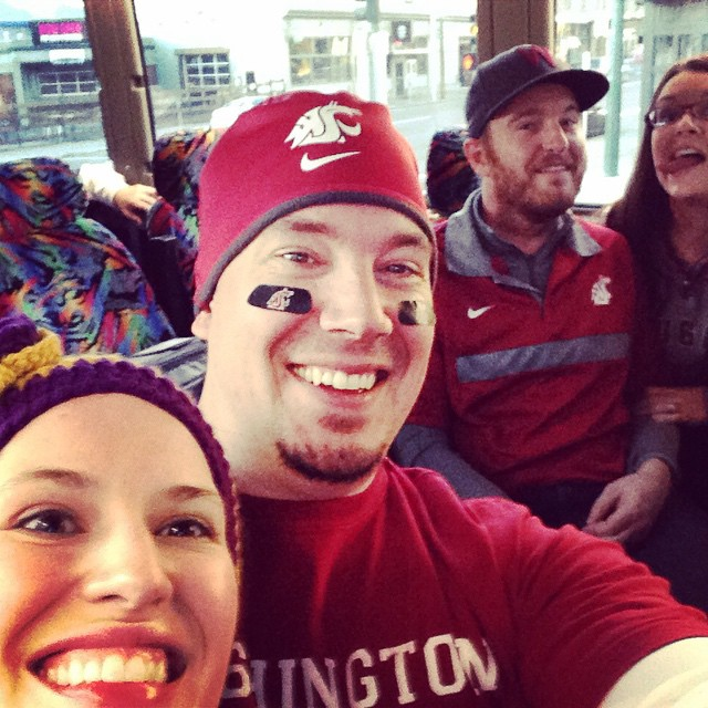 Game Day! #AppleCup #GoCougs #PartyBus