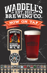"""Waddell's Fireman's Amber Ale 11""""x17"""" Poster"""