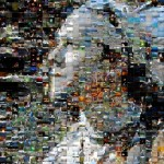 Self Portrait Mosaic - 1,296 Photos