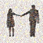 Wedding Logo Mosaic - 1,600 Photos
