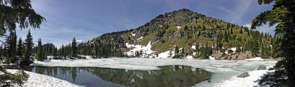 Cliff Lake and St. Paul Peak