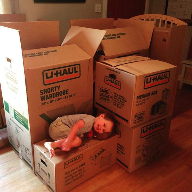 Moving Day #littlehelper