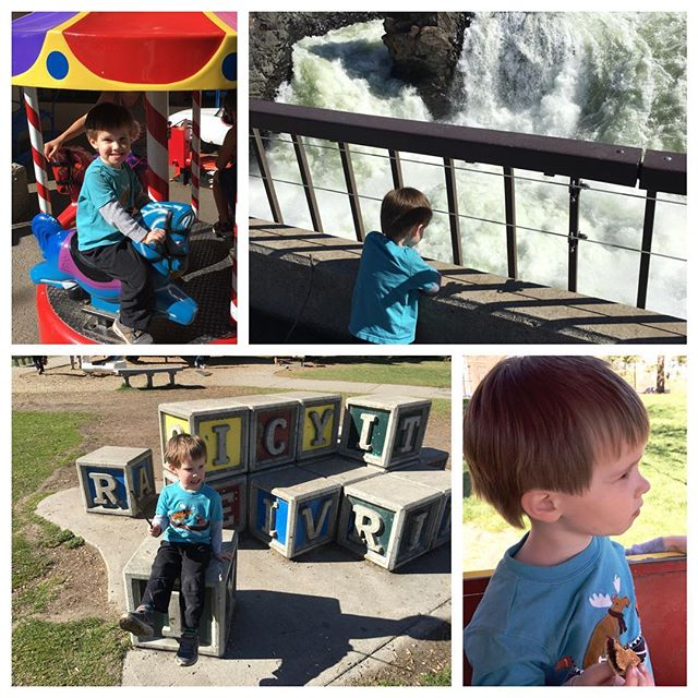 Had a fun day at the park with my little dude #toddlerlife #funinthesun
