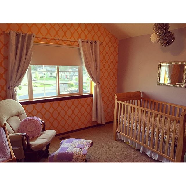 Nursery done! Bring on the baby!