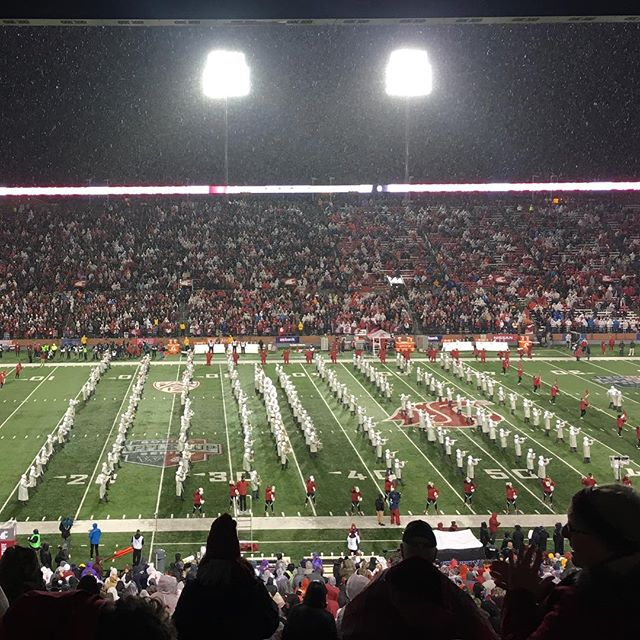 Go Cougs! #applecup #snow