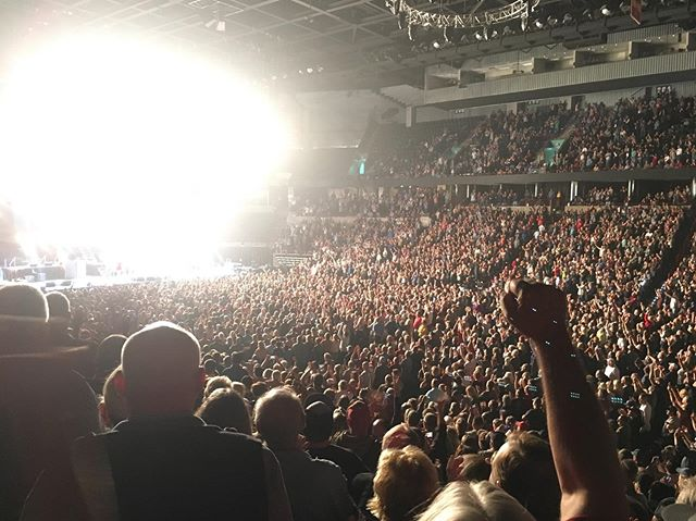 Cool shot from the Bob Seger concert!